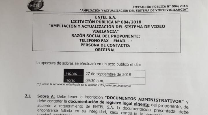 Lea y juzgue: esta es la nota sobre empresas de seguridad que ocasionó el juicio penal de ENTEL contra Raúl Peñaranda