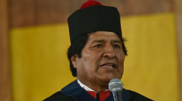 """A nombre de los bolivianos, Evo dice que la elección de Maduro fue """"legítima"""" y """"democrática"""""""