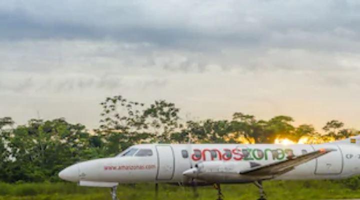 Amaszonas inicia vuelos solidarios a Rurrenabaque y San Borja con tarifa única de Bs 200