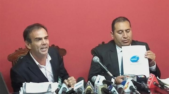 Empresario Cabessa ratifica sus denuncias contra Entel