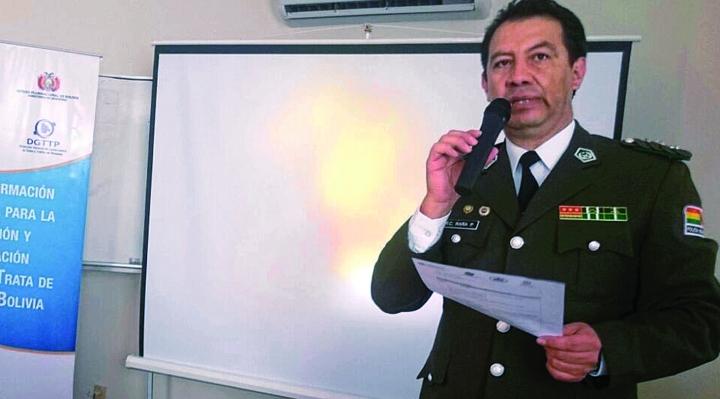 Fiscal asegura que coronel Raña fue acusado en presencia del presidente Morales