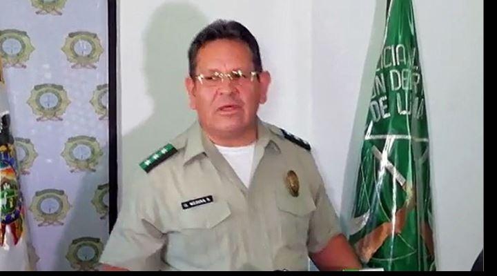 """Jefe policial dice que reporte que lo vincula con supuesto narco es un """"delito imposible"""""""