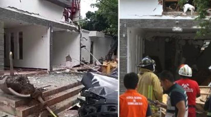Fuerte explosión causa seis heridos en Santa Cruz