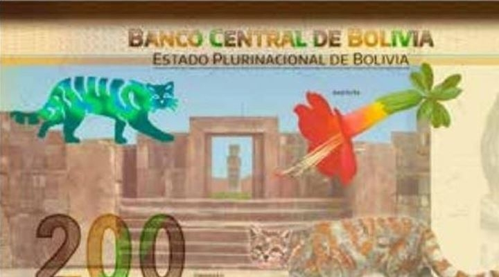 Nuevo billete de Bs 200 tiene a Simón Bolívar, Bartolina Sisa y Túpac Katari