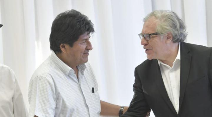 """Evo dice que Almagro se quejó porque Mesa y Ortiz le habrían agredido """"casi hasta físicamente"""""""