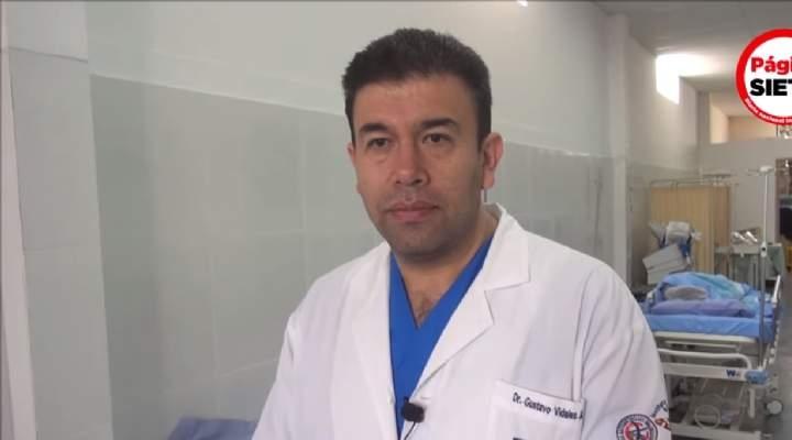 En última entrevista, Vidales dijo que hacen falta médicos en Bolivia