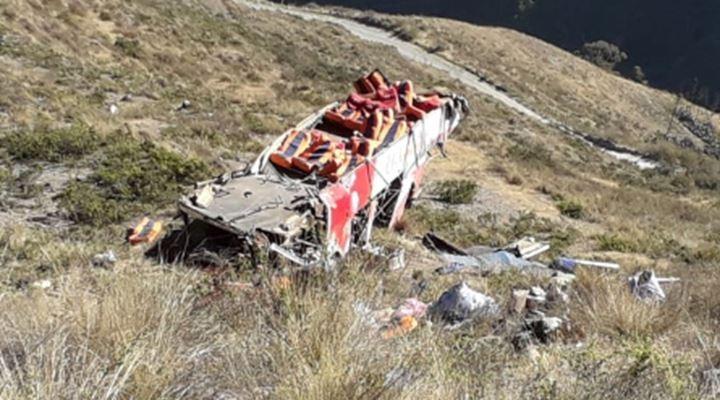 Tragedia en Charazani, de 15 fallecidos 11 eran jóvenes médicos voluntarios