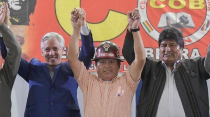 Huarachi revela que la COB tiene 54 candidatos a legisladores en la lista del MAS