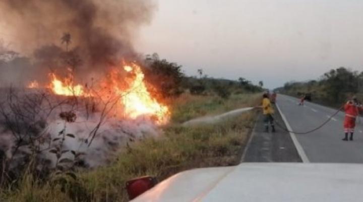 Chiquitanía: gobernador Costas convoca al Gobierno para coordinar estrategias contra el fuego