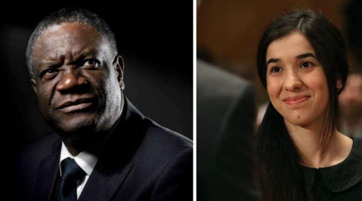Nobel de la Paz 2018 para el ginecólogo congolés y la esclava del Estado Islámico