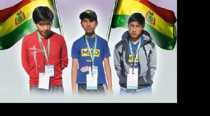 Estudiantes de secundaria de Viacha ganan concurso de robótica en España