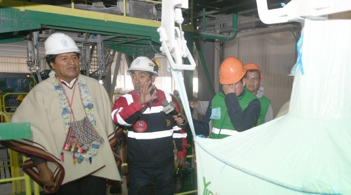 Inauguran Planta de Cloruro de Potasio que pretende producir 350 mil toneladas al año