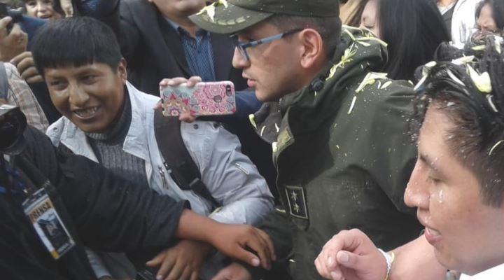 Jhiery Fernández recupera su libertad después de cuatro años de encarcelamiento