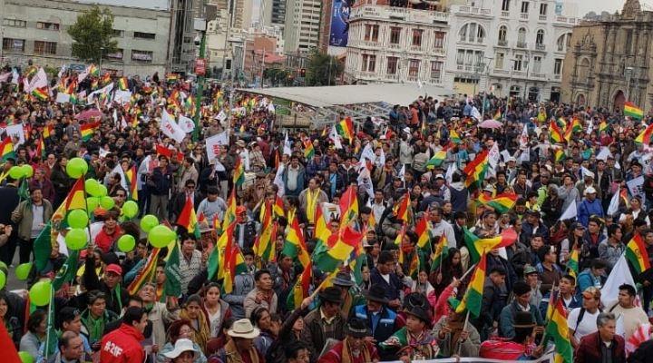 """El TSE elevará informe después de """"acompañar y observar"""" el cabildo de La Paz"""