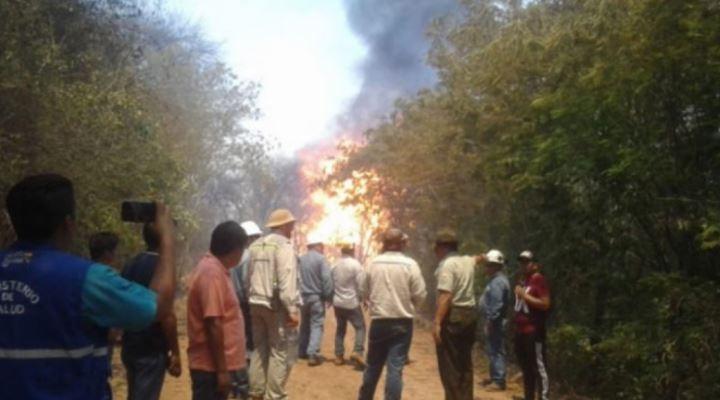 Muere la mamá afectada por la explosión del gasoducto y dos niños quedan en la orfandad