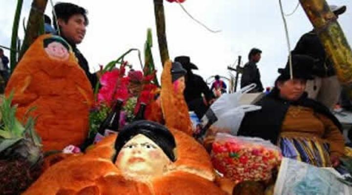 En el mundo andino, los muertos siguen con nosotros y se marcharán recién en carnavales