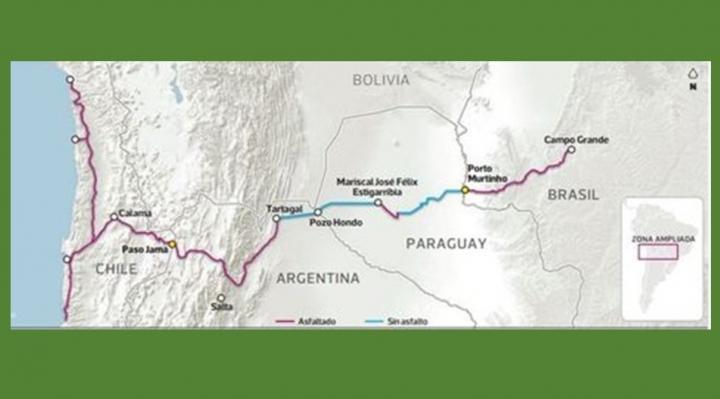 No es nuevo el plan de construir el corredor interoceánico anunciado por Piñera y Bolsonaro