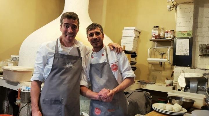 Marco y Alessio, los gemelos italianos que conquistaron La Paz