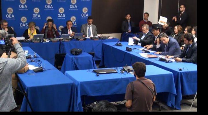 Gobierno dice en la CIDH que la repostulación indefinida de Evo no viola derecho alguno