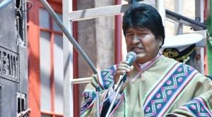 """Morales cree que """"la derecha"""" sufrió un """"fracaso"""" al intentar """"convulsionar"""" al país"""