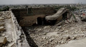 Cómo Estado Islámico destruyó en Mosul una mezquita pero dejó al descubierto un palacio de 3.000 años de antigüedad 1