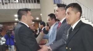 Posesionan a 6 abogados y un militar para la lucha contra la corrupción en entidades de FFAA