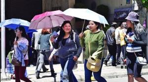 Continúan las altas temperaturas en La Paz