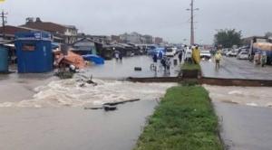 Colapsa un puente en Entre Ríos y la ABC pide conducir con precaución