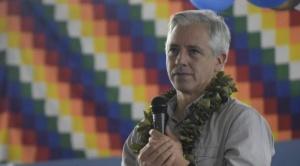 """García Linera: el modelo económico es """"ganador"""" y """"se tiene que mantener"""""""