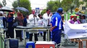 """Médicos inician paro de 48 horas y Evo les pide estar """"al lado de su pueblo"""""""