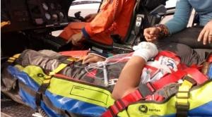 Los Nosiglia, padre y uno de los hijos, abandonan el Dakar