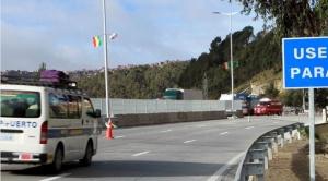 Fue inaugurada la remozada autopista entre La Paz y El Alto