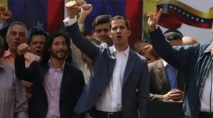 Liberan después de detener por minutos a Juan Guaidó, presidente de la Asamblea Nacional de Venezuela