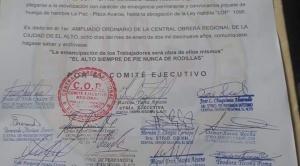 """COR El Alto resuelve apoyar a periodistas que sufren """"persecución y amedrentamiento sistemático"""""""