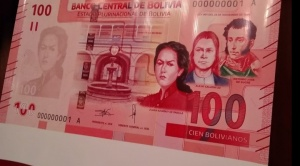Juana Azurduy, Antonio José de Sucre y Alejo Calatayud son parte del nuevo billete de Bs 100 1