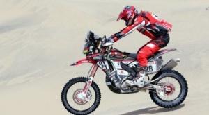 """Daniel Nosiglia clasifica en segundo lugar de la novena etapa e ingresa al """"top ten"""" del Dakar 1"""
