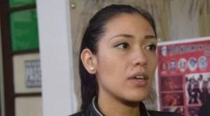 Adriana Salvatierra, la joven cruceña que asumirá la Cámara de Senadores