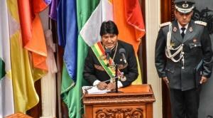 """Morales reitera cifras de """"logros económicos"""" e insiste en que Bolivia y Chile deben negociar el tema marítimo"""