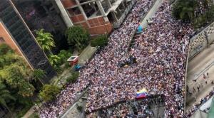 En gran parte de Venezuela se movilizan contra régimen de Maduro
