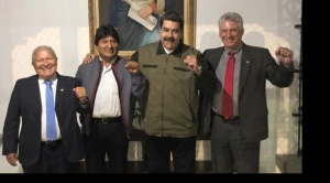 Maduro tiene el apoyo de Rusia, México, Bolivia, Uruguay, Nicaragua, Honduras y Cuba