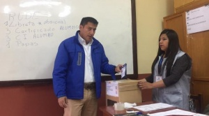 Zavaleta afirma que el MAS tiene una aplicación para control de delegados de mesa y no para obligar a votar