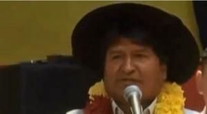 """Evo dice que """"alguien está manipulando"""" en el Órgano Electoral nombres de militantes del MAS"""