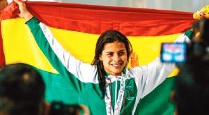 Nadadora  Karen Tórrez bate récord en Chile y se clasifica para Mundial de China