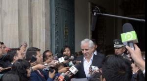 """García Linera dice a la oposición: """"cuando lleguen a 50 mil votos que me vengan hablar"""""""