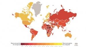 Bolivia obtiene su peor calificación sobre percepción de corrupción, cayó 20 puestos