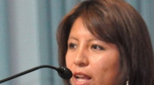 Nadia Cruz, la nueva Defensora del Pueblo interina es paceña y abogada
