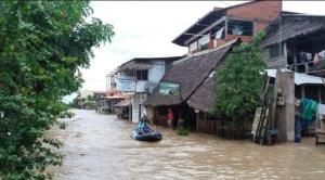 Por lluvias y desbordes de ríos, declaran alerta roja a un municipio y a 3 en emergencia en el Beni