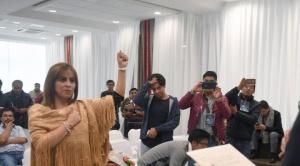 """Nueva viceministra Medinaceli habla del trabajo de """"equipo en estos meses que nos quedan"""""""