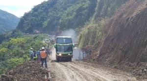 Habilitan provisionalmente tránsito vehicular en sector Puente Armas