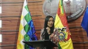 Adriana Salvatierra renuncia a su nacionalidad chilena 1